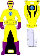Yellow Spy Force Ranger
