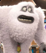 Yeti in Monsters University