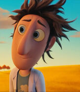 Flint Lockwood in Cloudy with a Chance of Meatballs
