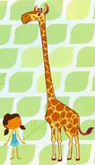Giraffe mary had a little lamb super simple songs