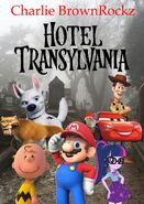 Hotel Transylvania (2012; Charlie BrownRockz Style) Movie Poster