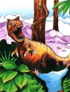 Jumpstart firstgrade bedtime story carnivorous dinosaur