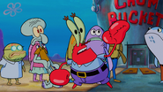 Krabs follow that plankton
