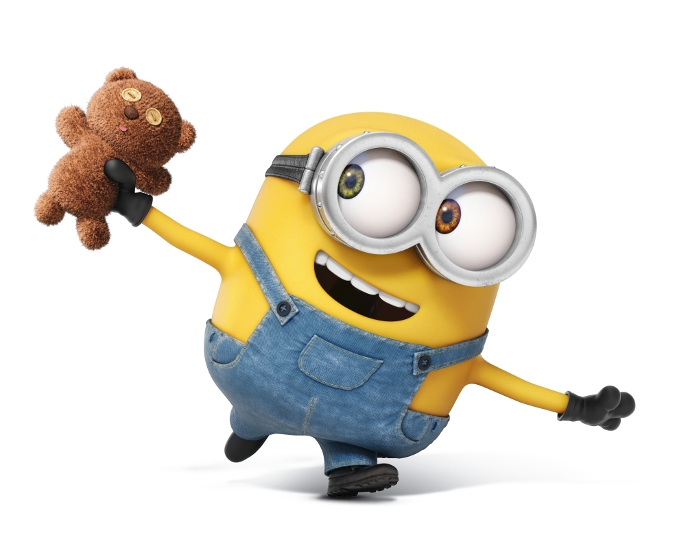 Great Minions Bob And His Teddy Bear