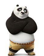 Po (Kung Fu Panda) as Thaddeus Phelgm Bile
