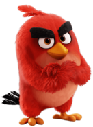 Red angry birds 2016