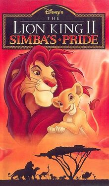 The Lion King 2 Simba's Pride English Poster