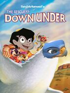 The Rescuers Down Under (1990; Davidchannel's Version) Poster