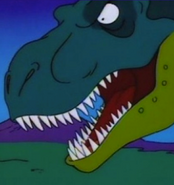 The Simpsons T-rex