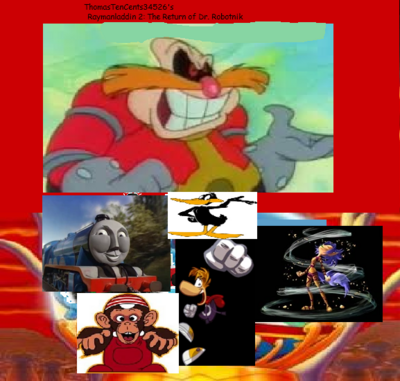 Raymanladdin 2: The Return of Dr  Robotnik