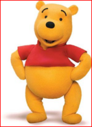 Winnie the Pooh (The Book Of Pooh) as Frankie