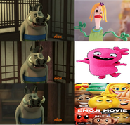 Bian Zhao dislikes Knifey, Moxy and the Emoji Movie