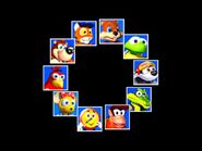 Diddy Kong Racing 64 diddy and friends