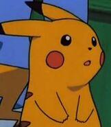 Pikachu in Pokemon Heroes