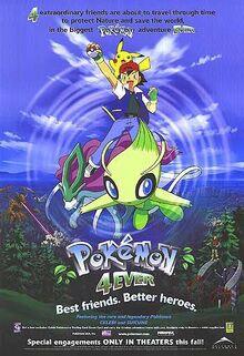 Pokemon 4Ever English Poster