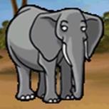 Elephant in hugo lek och lar 5 savannens hjaltar