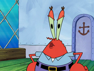 Krabs get squidward out of his job