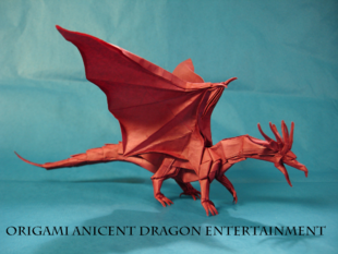 Origami Anicent Dragon Entertainment