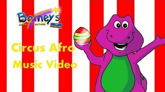 Barney's Great Adventure- The Crossover Circus Afro I Like To Move It Music Video