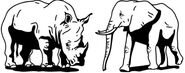 Elephant-rhino-1