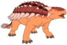 Marty the Ankylosaurus
