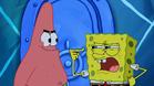 Spongebob point himself in the eyes