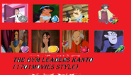 The gym leaders of kanto (1701movies style)