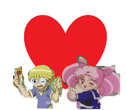 Tori and chibiusa