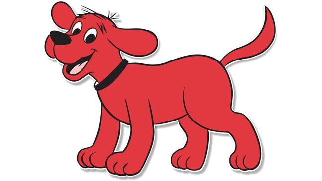 Image result for clifford the dog