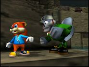 Conker's Bad Fur Day conker and SHC General