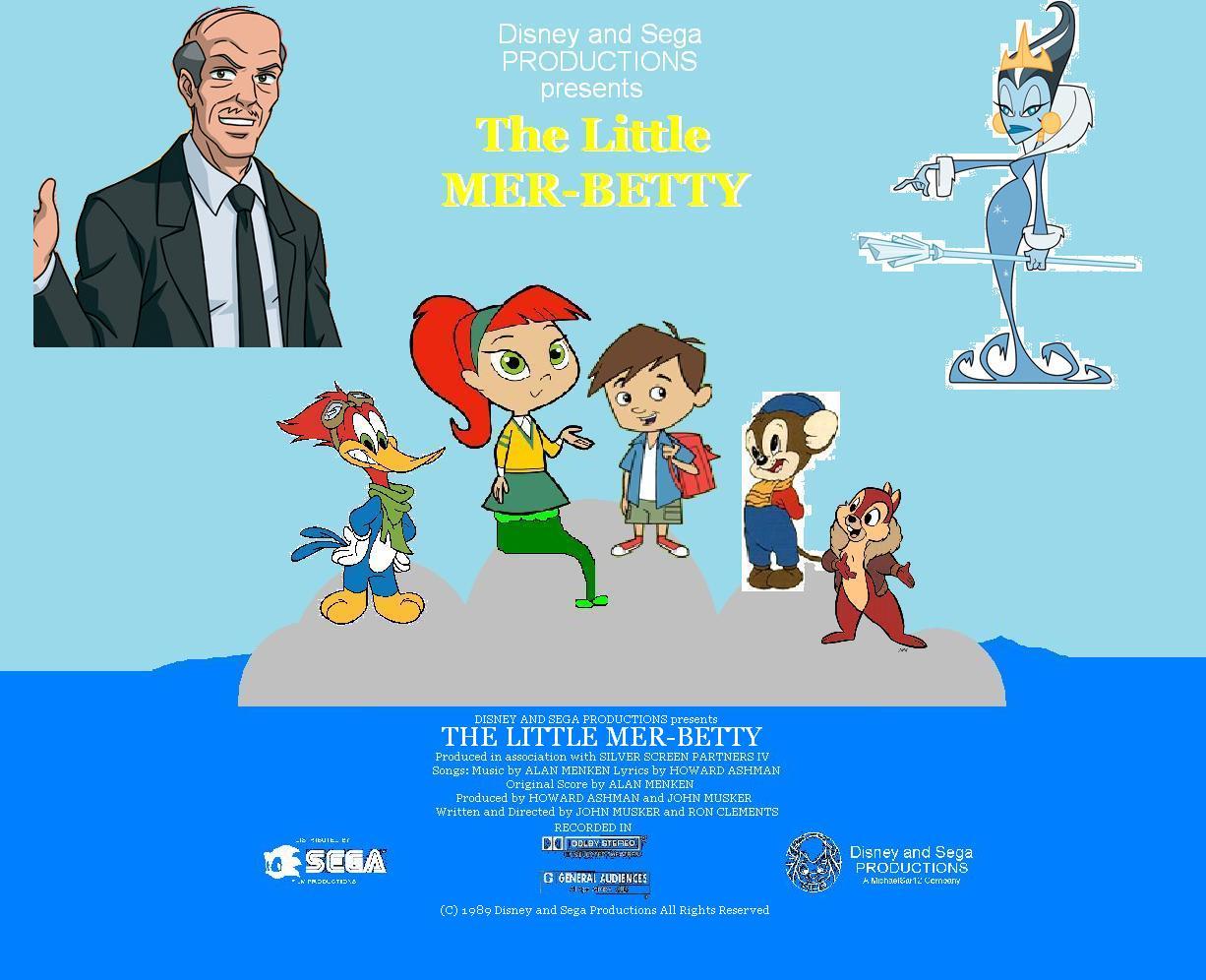 The Little Mer-Betty | The Parody Wiki | FANDOM powered by Wikia