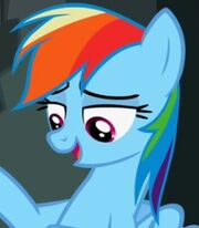 Rainbow Dash in My Little Pony- Friendship is Magic