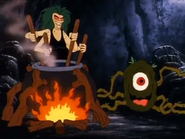 Revolta and Grim Creeper in Scooby Doo and the Ghoul School 03