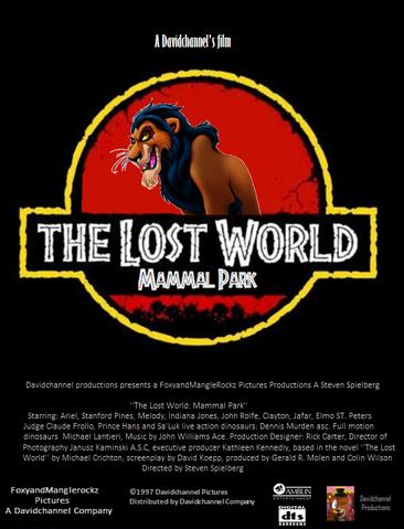 The Lost World Mammal Park (1997) VHS Cassete film