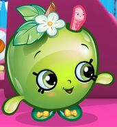 Apple blossom cartoon