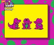 Barney Doll in Loud House Style (1993 AU)