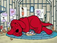 Clifford the big red dog and cleo sleeping by lah2000 dcyrq1o-fullview