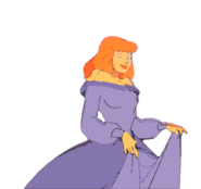 Daphne Blake dressed as princess(1)