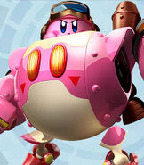 Kirby in Kirby Planet Robobot