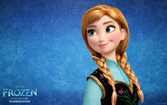 Princess anna frozen-wide