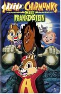 Chipper and the chipmunks meet frankenstein vhs cover