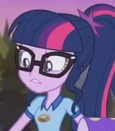 Sci-Twi in My Little Pony- Equestria Girls Legend of Everfree