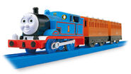 Tomy and Trackmaster Thomas, Annie, and Clarabel