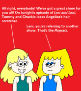 Lori and leni leni is referring to another nick in 1985 by mikeeddyadmirer89-dax3em0