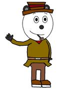 Panda 'Pandy' Smoochie (secret agent) (pipe)