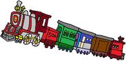 The Evergreen Express.
