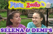 You're Invited to Selena & Demi's