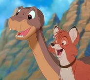 Littlefoot and Tod 3