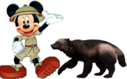 Mickey meets Wolverine