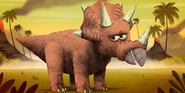 Storybots Triceratops